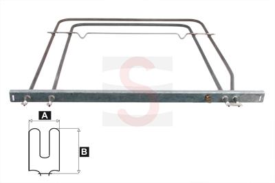 Comprar resistencia horno balay 650w 1038w solera doble for Hornos empotrados electricos balay